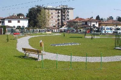 Foto di una area verde a Ceriano Laghetto