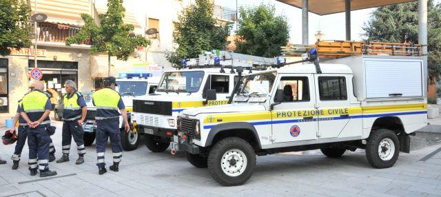 Foto della Protezione Civile